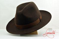 Dark Nutmeg Brown Western Fedora - Wide Brim Wool Felt Handmade Fedora Hat - Men Women by AgnoulitaHats on Etsy https://www.etsy.com/listing/269150250/dark-nutmeg-brown-western-fedora-wide