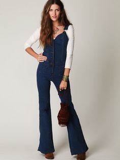 Oh I may love this one more... Nightcap 70s Overall and its on sale! #FreePeople