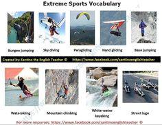 Extreme Sports Vocabulary