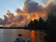 Largest forest fire in Timmins district causing massive smoke plume south of the city - Timmins Times - Ontario, CA