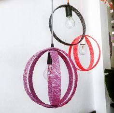 Un favorito personal de mi tienda Etsy https://www.etsy.com/es/listing/234738629/circle-lampara-circulo-gris-lampara-de