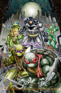 Crossover de Batman e Tartarugas Ninjas é confirmado pela DC Comics [ATUALIZADO] | Omelete