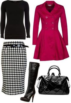 18 Ideas Skirt Outfits For Winter Classy Work Attire Mode Outfits, Skirt Outfits, Fall Outfits, Fashion Outfits, Womens Fashion, Fashion Clothes, Fashion Ideas, Fashion Tips, I Love Fashion