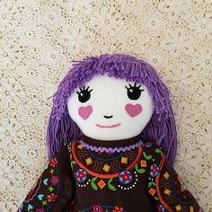 Check out this item in my Etsy shop https://www.etsy.com/au/listing/562057854/doll-handmade-fabric-rag-dolls-handmade