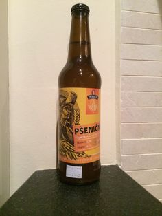 Psenicne #Pivo, #Beer, #Czechoslovak old banknote etiqutte