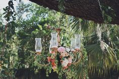 Outside chandelier, Garden roses, citrus decor, girl first birthday party, baby shower, floral arrangements, peonies and roses, feminine First Birthday,
