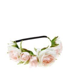 Cream Bouquet Hair Garland