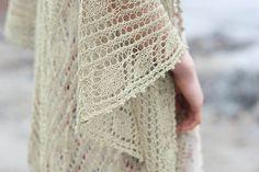 Ravelry: Leaves Shawl pattern by Kristen TenDyke