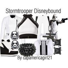 Stormtrooper Disneybound by capamericagirl21 on Polyvore