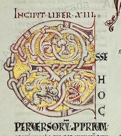S. Gregorii  Moralia in Iob  13. Jh.  Persistent URL: http://digi.vatlib.it/view/bav_pal_lat_251