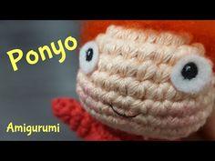 Amigurumi   PONYO crochet + needle felting - YouTube