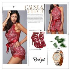 """""""RED STYLE 4"""" by umay-cdxc ❤ liked on Polyvore featuring Envi:"""