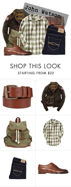 """John Watson (Sherlock)"" by claucrasoda ❤ liked on Polyvore featuring John Lewis, Superdry, Wet Seal, Old Navy, Abercrombie & Fitch, Ralph Lauren and diycostume"