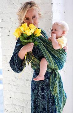 Ellevill Woven Wrap - Zara Lemongrass