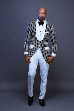 Ankara Xclusive: 2018 ankara styles for men : Awesome Ankara shirt outfits For Men African Shirts For Men, African Attire For Men, African Clothing For Men, African Wear, Nigerian Men Fashion, African Men Fashion, African Fashion Dresses, Mens Fashion Suits, Mens Suits