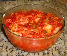 <3 Mom made me some kimchi <3