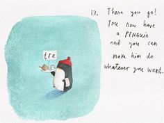 Oliver Jeffers: How to draw ... penguins   Children's books   The Guardian