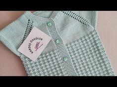 BU MODEL FARE DİŞİNİ UNUTTURACAK/ÇİĞ DAMLASI ÖRGÜ MODELİ - YouTube Baby Vest, Knitting Videos, Baby Knitting Patterns, Crochet Lace, Baby Kids, Sewing, Sweaters, Dresses, Fashion