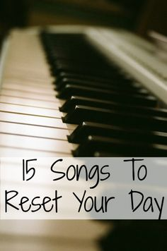 Everyone can have bad days. As a housewife and homeschooler, days can get hard. That is why I have a list of feel good music to ease my days. Click here to find out 15 of my favorite songs to reset a crappy day.