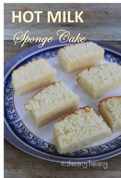 Hot Milk Sponge Cake - * The Bitchen Kitchen * - Cake Recipes Hot Milk Sponge Cake Recipe, Hot Milk Cake, Vanilla Sponge Cake, Sponge Cake Recipes, Milk Recipes, Cooking Recipes, Vanilla Cake, Dessert Recipes, Pie Cake