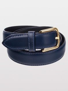 American Apparel Unisex Basic Leather Belt