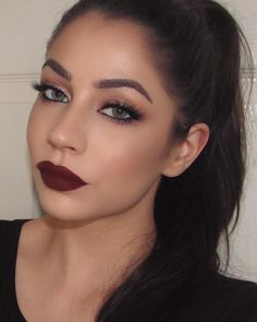Stunning Fall Look With Anastasia Beverly Hills Eye Shadows and Liquid Lipstick in 'Heathers!'