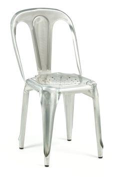 155 Marais Vintage Chair Galvanized Industry West
