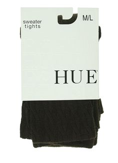 HUE Women's Cable Sweater Tight, Espresso, Small/Medium -- You can find more details by visiting the image link.