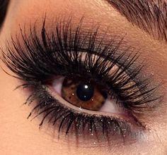 Love this look on brown eyes ❤️ | follow @sophieeleana