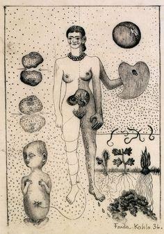 Door haar bekkenbreuk kon Frida geen voldragen kinderen dragen en heeft ze verschillende abortussen moeten ondergaan.