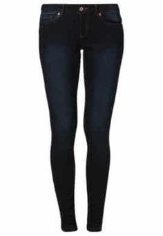 EVE - Jeans Slim Fit - dark blue denim