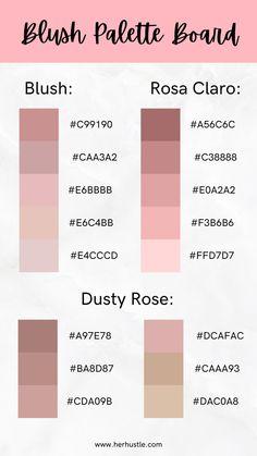 Hex Color Palette, Pink Palette, Pastel Colour Palette, Color Palate, Pastel Colors, Colours, Pantone Colour Palettes, Color Schemes Colour Palettes, Pantone Color