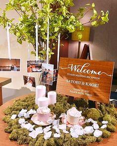 森の様な素敵なウェルカムスペースにオーダーいただいたウェルカムボードのお写真いただきました💕 . 木にお写真吊るすアイデアがとても素敵です✨ @ig.kaori さんありがとうございました💓 . vanilla chicのアイテムのお写真をタグ付けして下さったり #vanillachicwedding #vanillachic_wedding #vanillachic の#️⃣タグを付けてpostいただき、嬉しく拝見させていただいてます💕 #いつもありがとうございます .