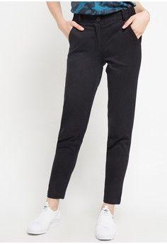 Wanita Pakaian Bawahan Celana Legging Chino Pant Pop U