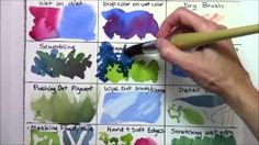 Watercolor Techniques for Beginners part 4.