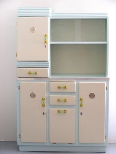 51 Best Vintage Kitchen Dressers Images Painted Furniture Living