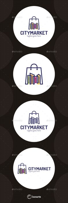 City Store Logo Template Vector EPS, AI. Download here: http://graphicriver.net/item/city-store-logo/14367839?ref=ksioks