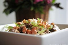 Vietnamese Beef with Garlic, Pepper and Lime