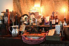 Outlander Party Ideas- Recreating Claire's Apothecary