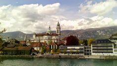 Solothurn: the most beautiful baroque town in Switzerland Nohama pevně na zemi...ale jen někdy;):