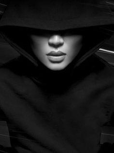 ♂ Black and white woman portrait beauty
