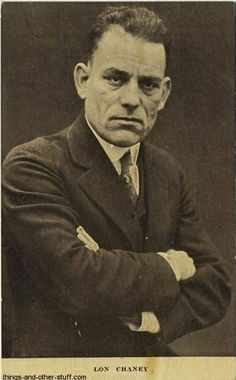 Lon Chaney was a rare kind of guy.  A true genius.  Even today, most actors fall short.