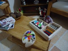 miniature paint set 112 scale by MINISSU on Etsy