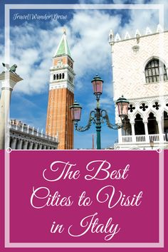Of the countries that I have visited to date, Italy tops my list. What I love most about the country in general are the welcoming people, plethora of history and ruins, and amazing food. There is no shortage of reasons why Italy continually tops the list of most-visited international destinations in the world. In this article I will cover the best cities to visit in Italy, from my perspective by city. #italy #rome #amalficoast #bestcitiesinitaly #internationaltravel