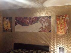 Gustova Klimt inspired bedroom