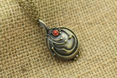 the Vampire Diaries jewelry locket necklace Antique by ruthdreamy, 2.70 christmas