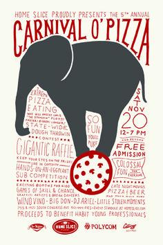 Carnival O' pizza -