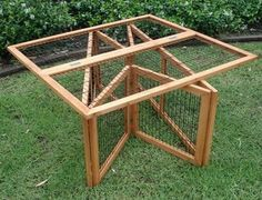 DIY Collapsible Chicken Run | DIY projects for everyone!