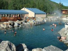 Chena Hot Springs, Alaska. A wonderful natural hot springs just out of Fairbanks