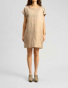 italian cotton linen sack dress #shopbird15 #SS14